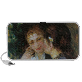 Confidences, Pierre-Auguste Renoir Portable Speakers