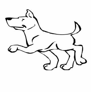 Confident Dog Photo Sculptures