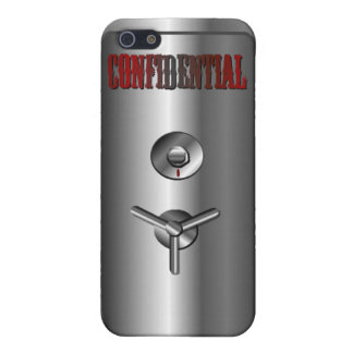 Confidential Mobile Cover Case For iPhone 5/5S