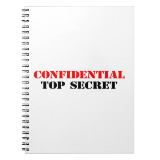 Confidential Notebooks