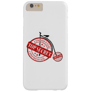Confidential Top Secret Old Bicycle Barely There iPhone 6 Plus Case