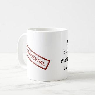 Confidential Work Coffee Mug