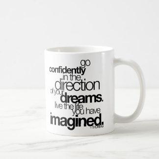 confidently-thoreau-stiles* coffee mug