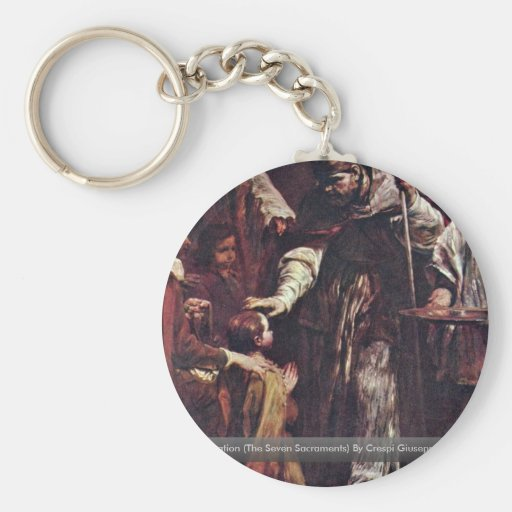 Confirmation (The Seven Sacraments) Keychain