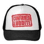 Confirmed Luddite Mesh Hat