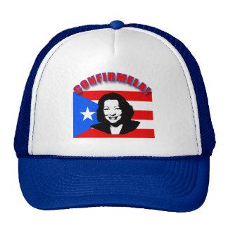 CONFIRMELA Con Bandera de Puerto Rico Cap