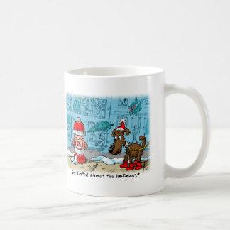 Conflicted about the holidays? basic white mug