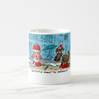 Conflicted about the holidays? coffee mug