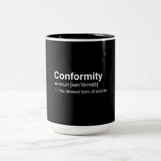 Conformity Definition Mug