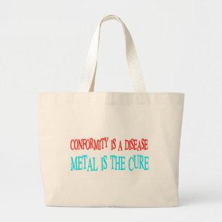 Conformity Is The Disease Tote Bag