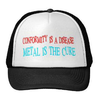 Conformity Is The Disease Mesh Hats