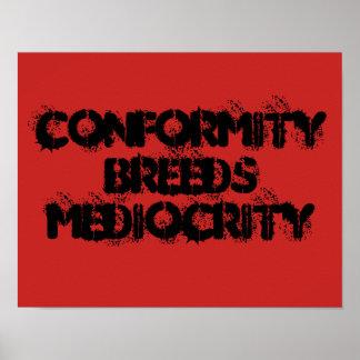 Conformity Poster