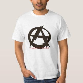 Conformity Sucks{Anarchy} T Shirts