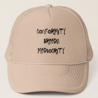 conformity trucker hat