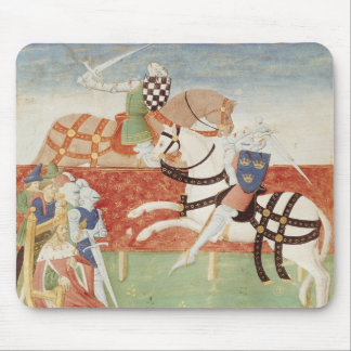 Confrontation of Two Knights before the King Mouse Mat