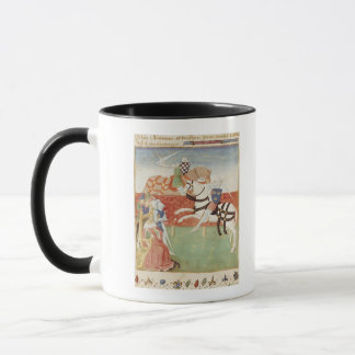 Confrontation of Two Knights before the King Mug