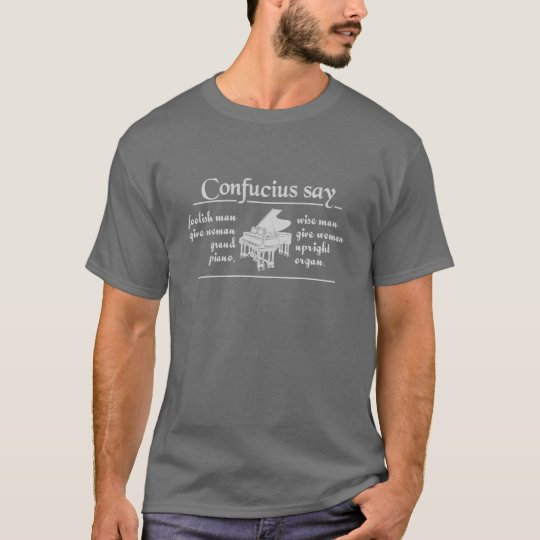 CONFUCIUS humor shirt - choose style & color