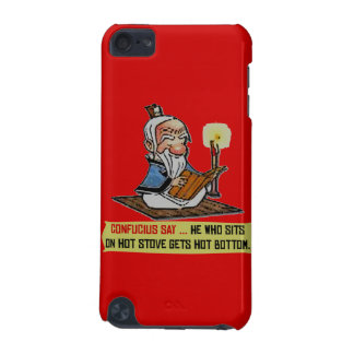 CONFUCIUS SAY ... HOT BOTTOM iPod Touch Speck Case