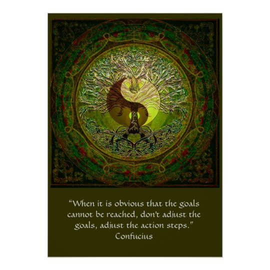 Confucius - When the goals cannot be reached
