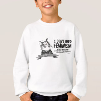 Confused Cats (for light-colored products) Sweatshirt