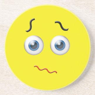 Confused  Emoji Coasters