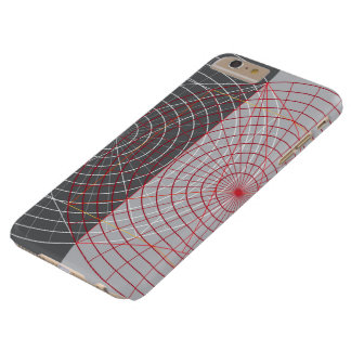 Confused lines geometric design barely there iPhone 6 plus case