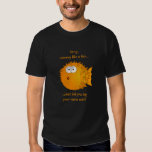 Confused Puffer Fish - funny sayings T Shirt
