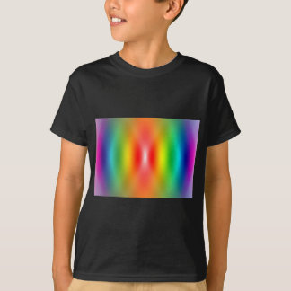 Confused rainbow colours abstract T-Shirt