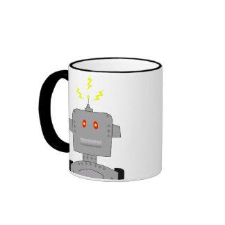 confused robot ringer mug