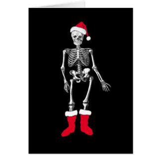 Confused Skeleton Card