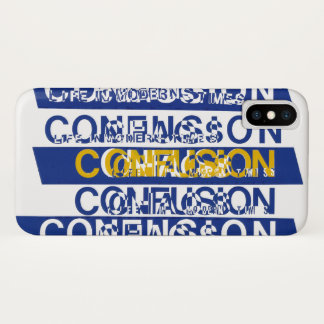 Confusion iPhone X Case