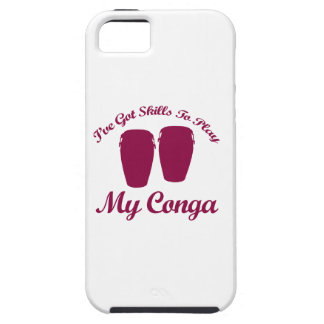 conga musical designs case for the iPhone 5