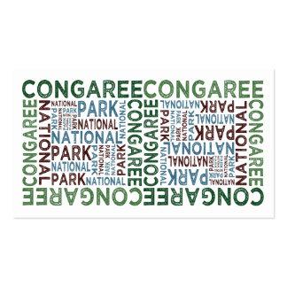 Congaree National Park Business Card Templates