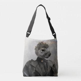 Congenial Squirrel Crossbody Bag