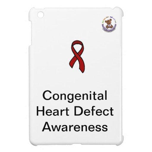Congenital Heart Defect Awareness - iPad Cover iPad Mini Cases