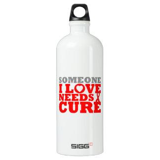 Congestive Heart Failure Needs A Cure SIGG Traveller 1.0L Water Bottle