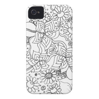 Conglomeration of Flowers iPhone 4 Cover