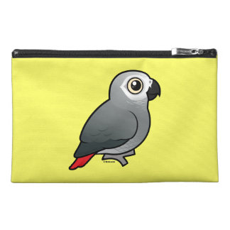 Congo African Grey & Caique Crazy Custom Travel Accessory Bags