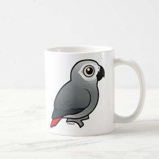 Congo African Grey Classic White Coffee Mug