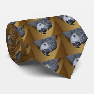 Congo African Grey Parrot Hello Tie