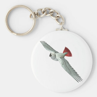 Congo African Grey Parrot Key Ring