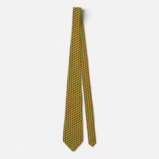 Congo-Brazzaville Flag Honeycomb Tie