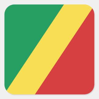 Congo-Brazzaville Flag Sticker