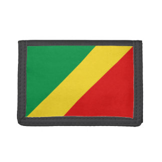 Congo-Brazzaville Flag Wallet