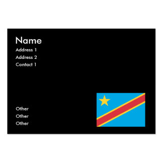 Congo Business Card Template