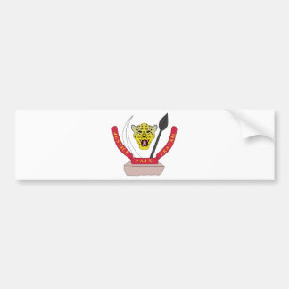 Congo Coat of arms CD Bumper Sticker