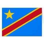 Congo flag CD Greeting Card