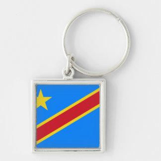 Congo flag CD Key Ring