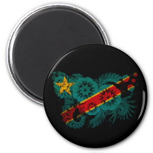 Congo Flag Magnets