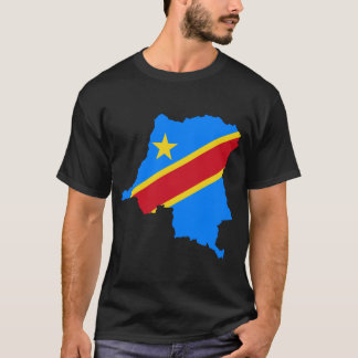 Congo Flag Map T-Shirt